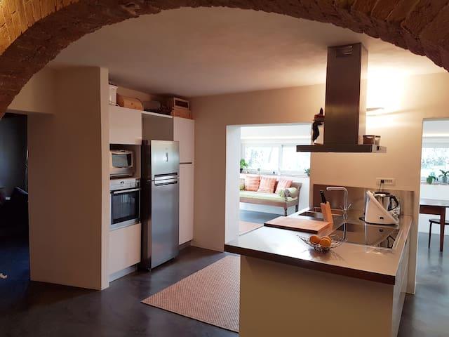 Il Vezzoso CHARMING HOUSE, N12Design accomodations - Siena - House