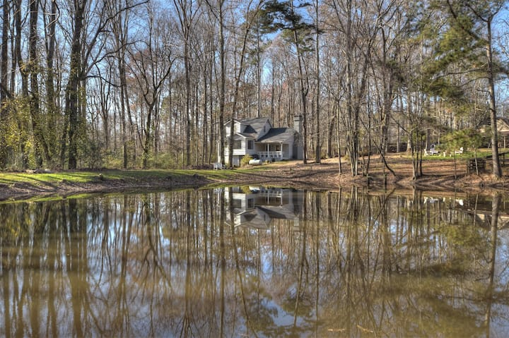 Shady Lake Farm sits on 7 acres of private land with its own private stocked pond.