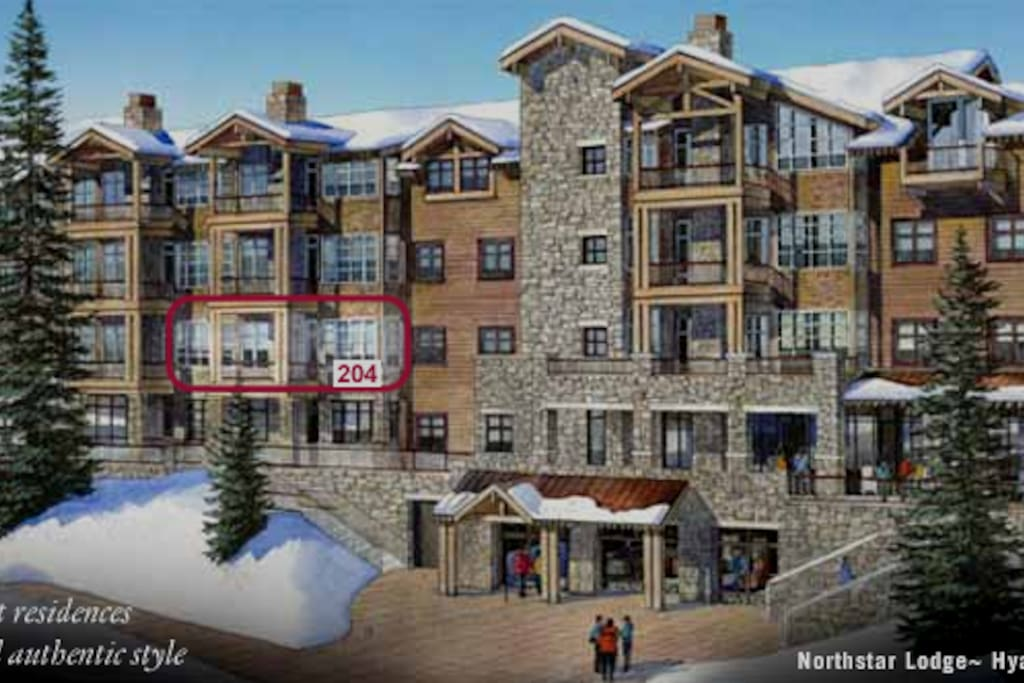 Steps from the new Gondola and the award-winning Northstar Village.
