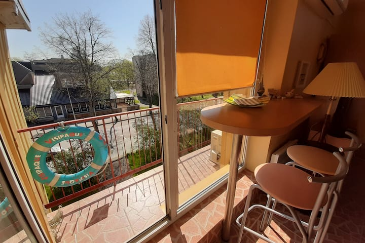 Cozy two room apartment for stay in Palanga.