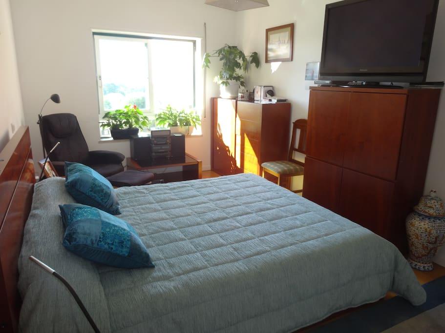 bedroom 1 with in suite bathroom