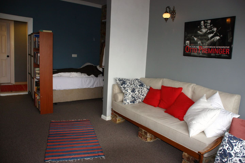 Main living and sleeping area