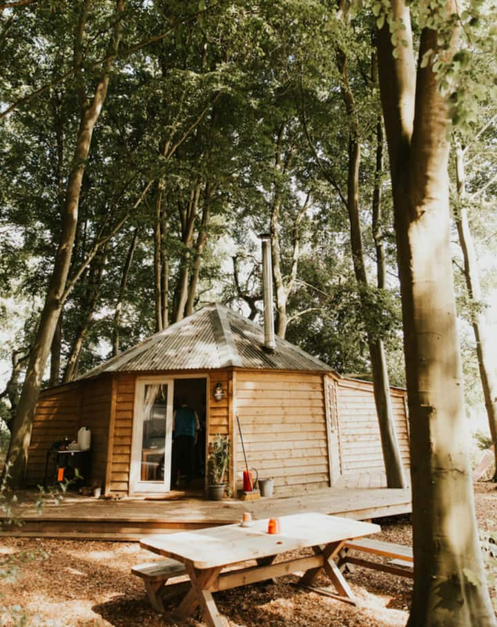 Winter Glamping (Sleeps 12) with Hot tubs