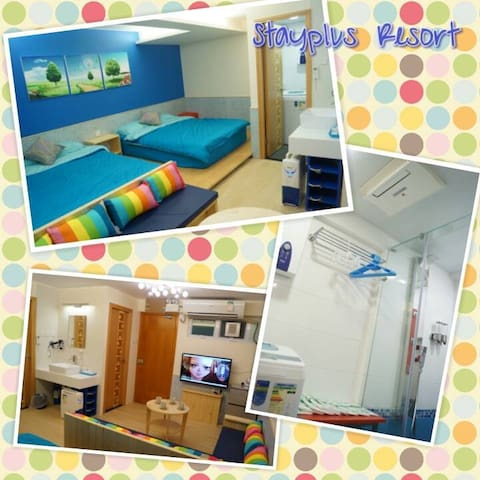 Cheung Chau Guesthouse - Room for 4 - Hongkong - Wohnung