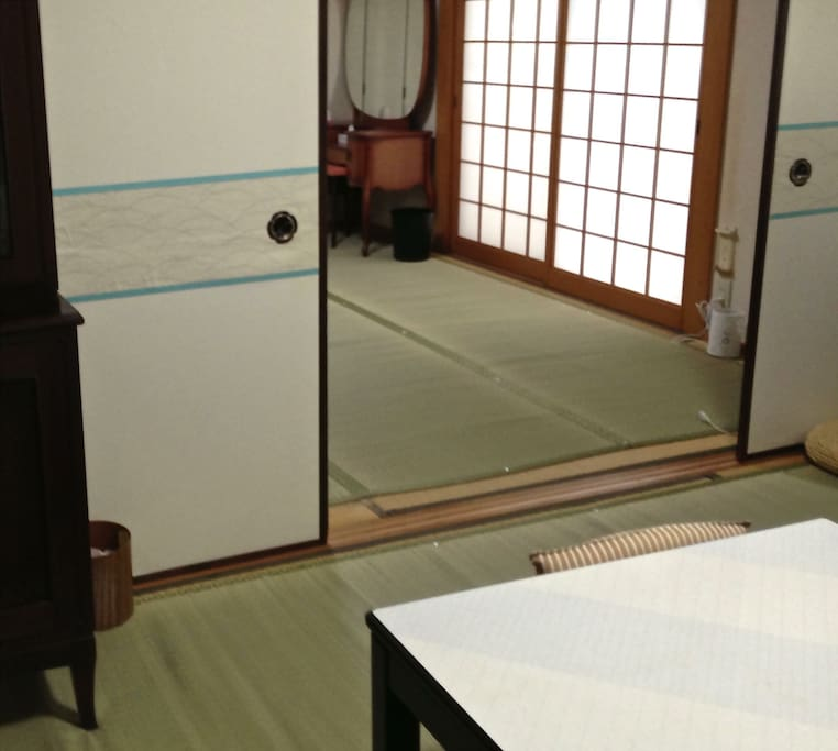 Large double room on the ground floor
