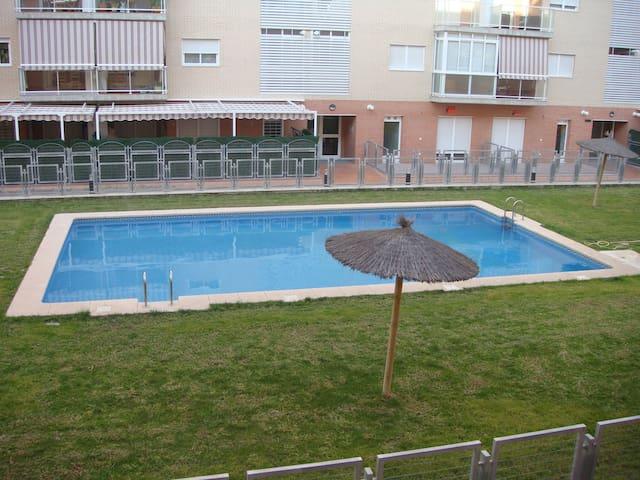 Apartamento con piscina apartamentos en alquiler en san for Piscina universidad alicante