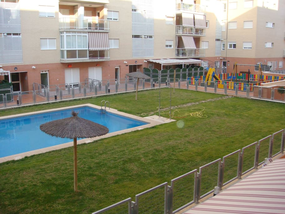Apartamento con piscina apartments for rent in san vicente del raspeig comunidad valenciana - Piscina san vicente ...