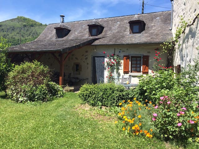Lovely house in the Pyrenees - Lurbe-Saint-Christau - Hus