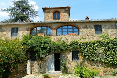 Beautiful restored Tuscan contry house with pool - Sinalunga