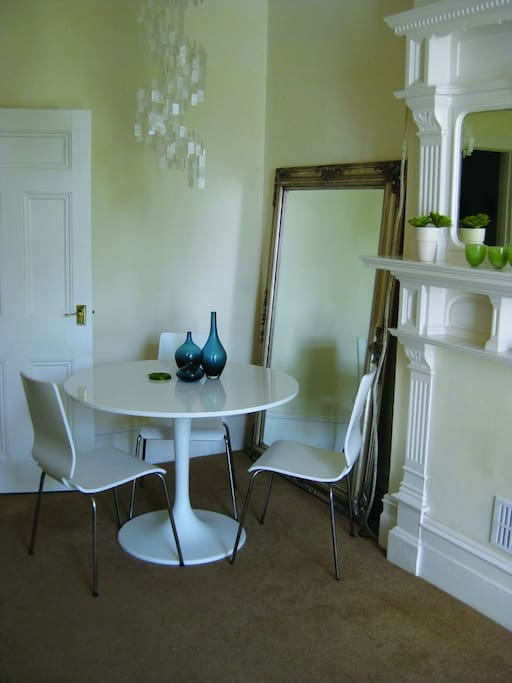 Dining area, perfect also for planning your day...