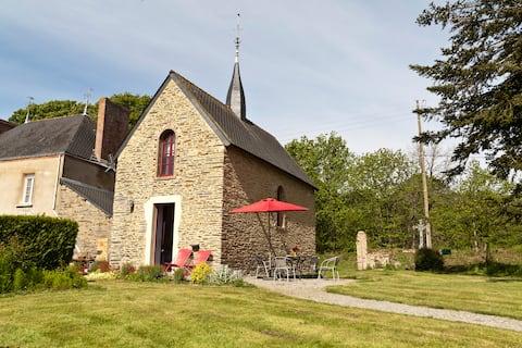 Feriehus i ombygget kapel