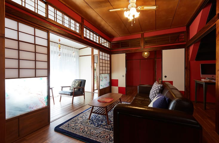 Traditional House in KAMAKURA with free bicycles