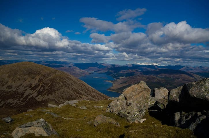 View from the top of Sgurr na Coinnich
