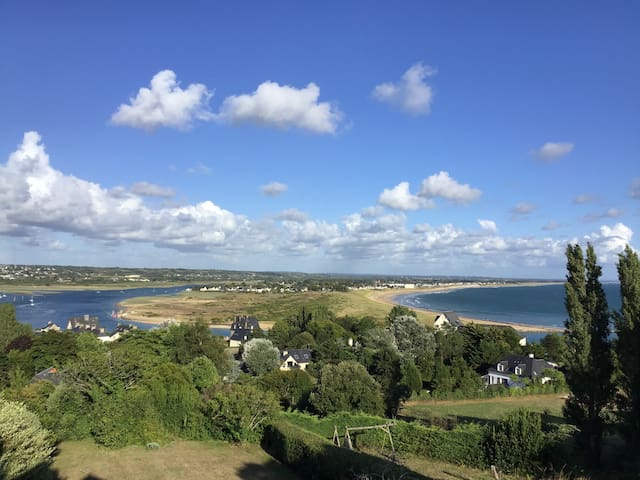Normandie, maison famille superbe vue sur mer