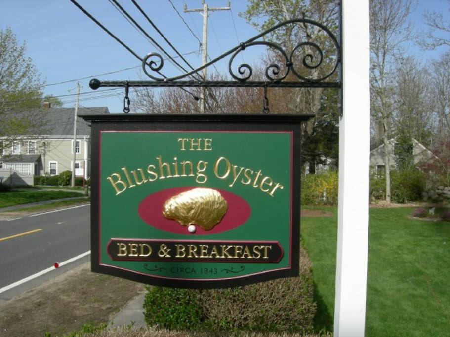 Blushing Oyster Sign