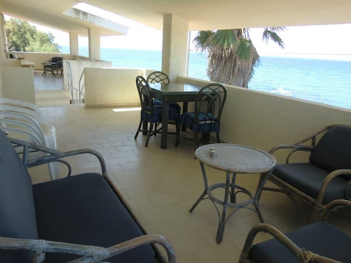 apartment in a villa on the sea