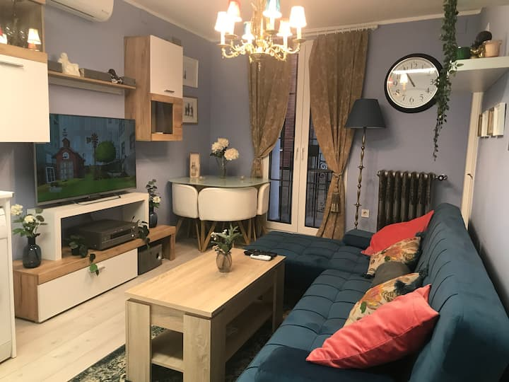 Dos apartamentos contiguos nuevos e independientes