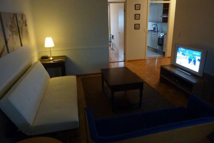 Spacious Apartment (82m2) in Rauma city center