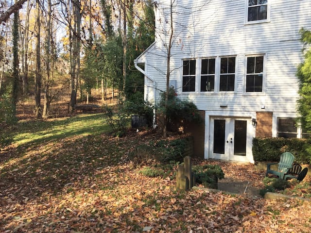 Secluded McLean apartment close to DC and to metro