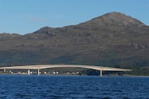 View of the Skye Bridge