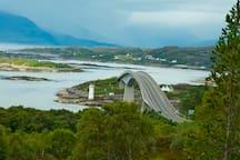 Skye Bridge from Fox Track walk