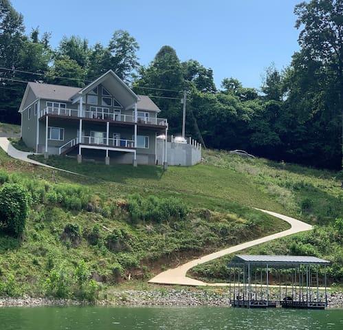 Brand New! Norris Lakefront Custom Home