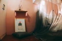 大猫de【微糖•日志】地暖房大落地窗Loft .近钟楼回民街.龙首原2号线地铁旁.印象城商圈美食街区