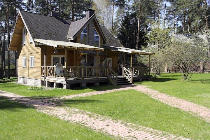 Уютный дом в сосновом лесу - Крыжовка - Haus
