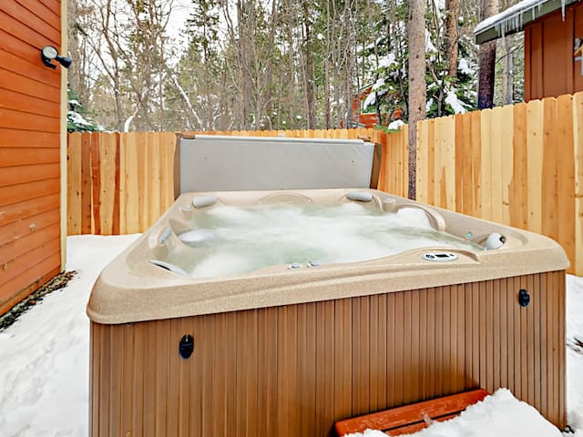 Your private 7-person hot tub -- take a luxurious soak after a thrilling day on the slopes.