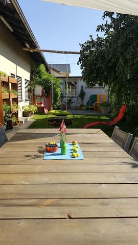 Excellent bungalow with private garden
