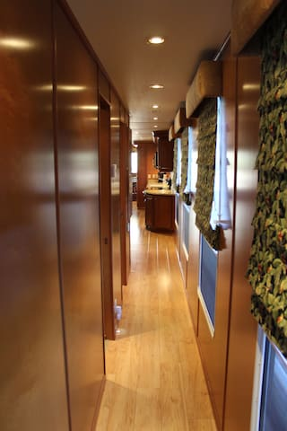 Hallway on Starboard Side.