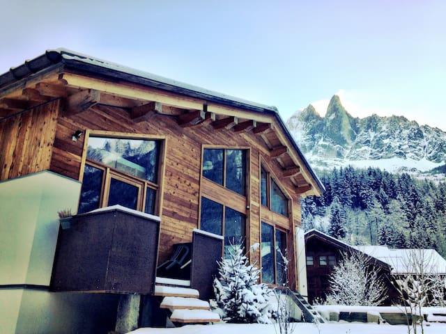 Cosy studio Les Mélèzes aux Bois - Chamonix