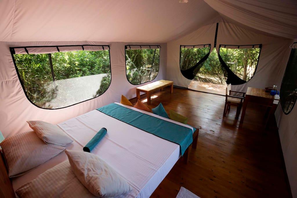 Spacious Superior Tent