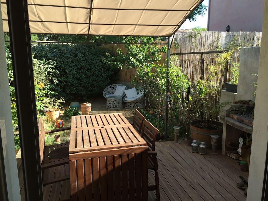 Jolie maison montpellier jardin maisons louer montpellier languedoc roussillon france - Maison jardin condominium montpellier ...