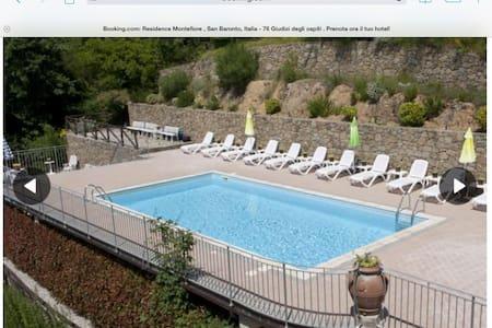 Tuscan apartment near Vinci - San Baronto - Appartement