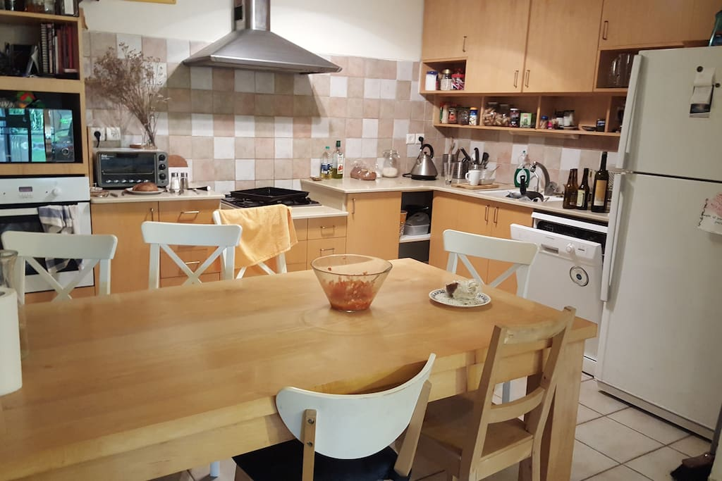 Kitchen and dinning table