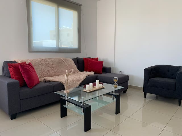 Modern Apartment Near Central Town in Larnaca