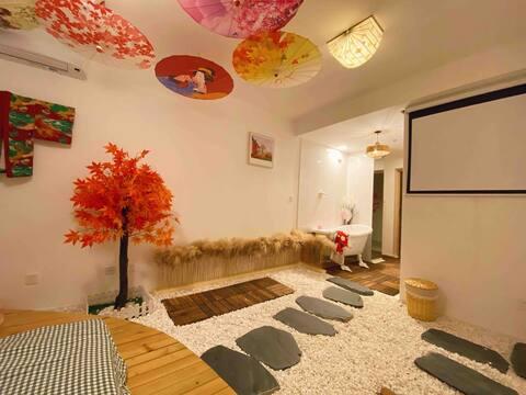 Instagrammable Photoshoot Resort · Vientiane Mall Upstairs Designer B&B Japanese Style Stone House