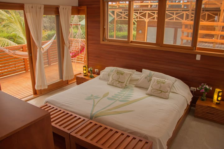 Room 2  - King Size bed with separate terrace