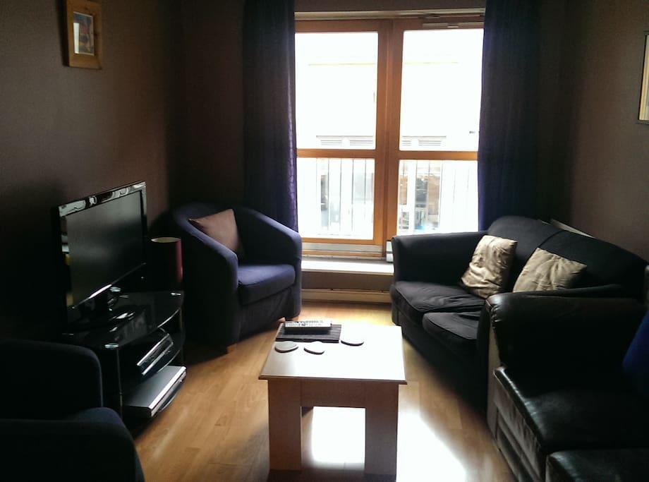 Living room for relaxing