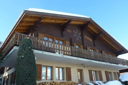 Chalet Erika - Moosalp Ski Area, nr Visp - Unterbäch
