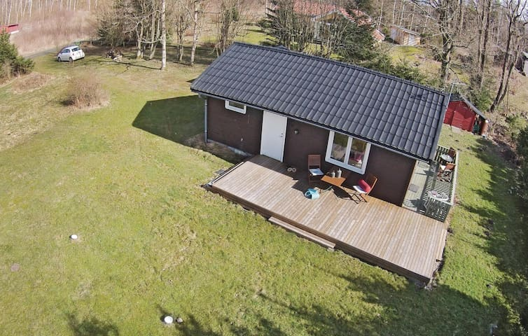 Holiday cottage with 2 bedrooms on 39m² in Brösarp