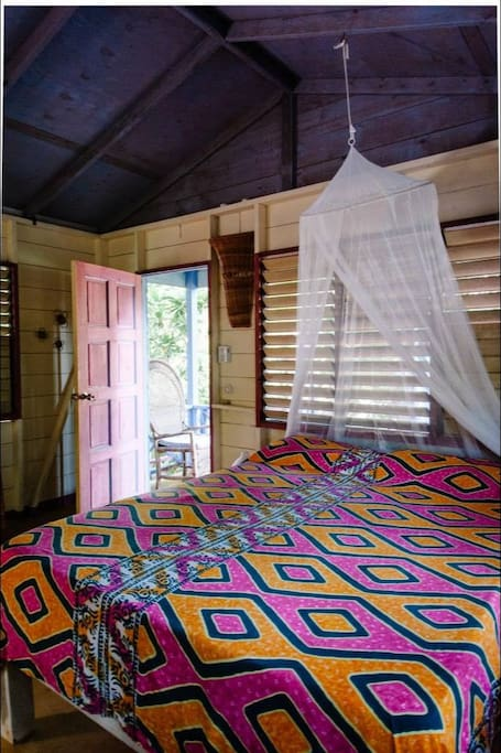 Breadfruit Cottage interior.