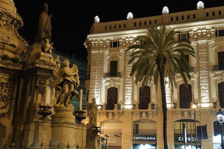 Palazzo Moncada - refined apartment