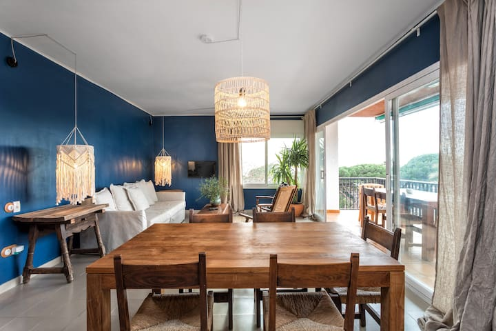 """Boho Beach Apartment"" Malgrat de Mar"