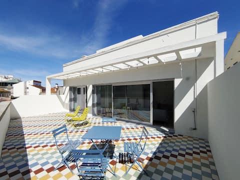 De diseño: céntrico, moderno y con  amplia terraza