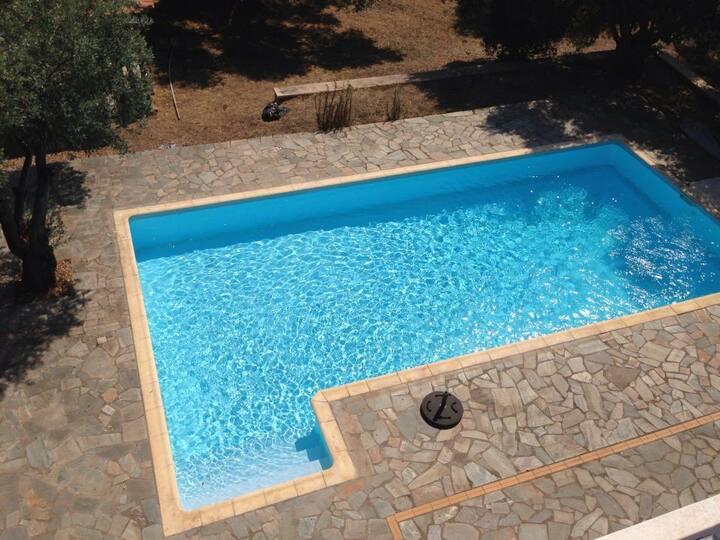 Villa - house north of Evia island