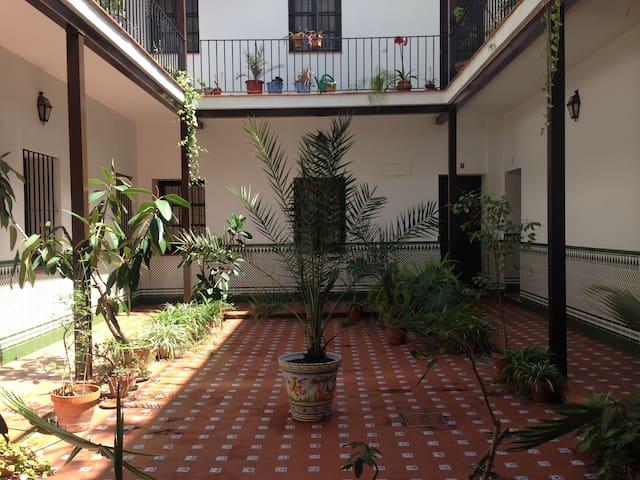 Apartamento céntrico con WIFI Y A/C - Sevilla - Apto. en complejo residencial