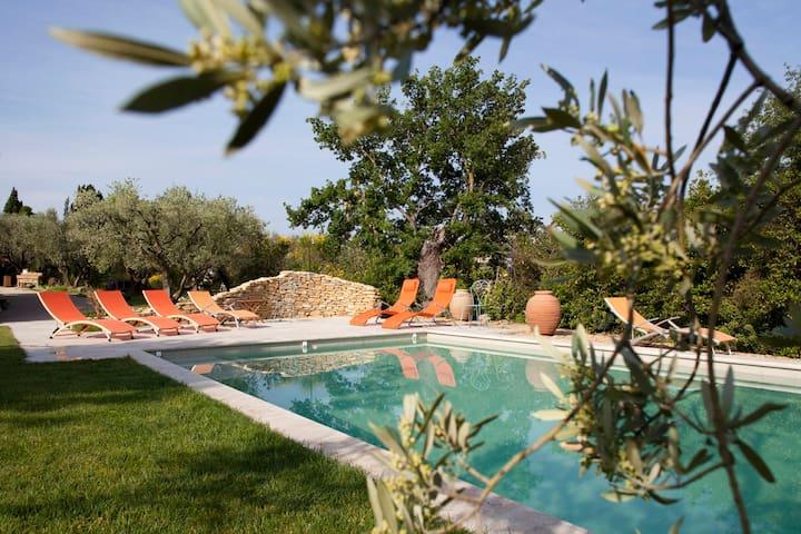 4 Chambres d'hôte dans mas Provença - Séguret - Pousada