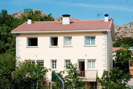 Casa de campo cercana a Madrid - Valdemanco - Almhütte